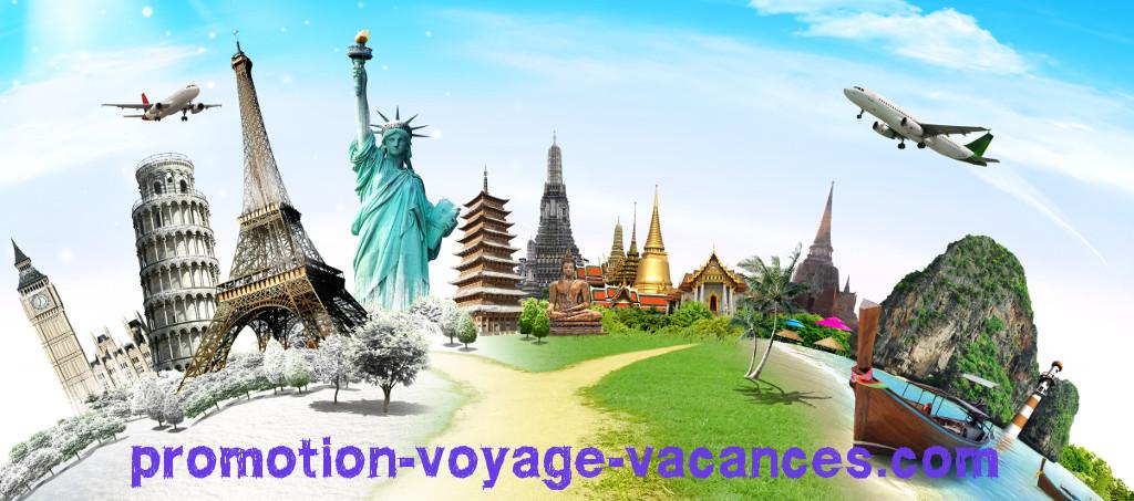 Promotion voyage vacances